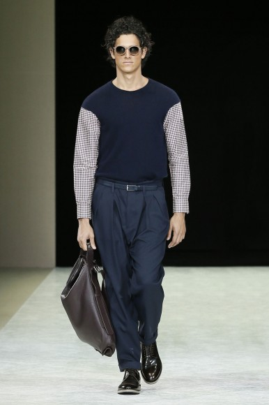 Giorgio Armani Menswear SS15 #6