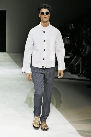 Giorgio Armani Menswear SS15 #7