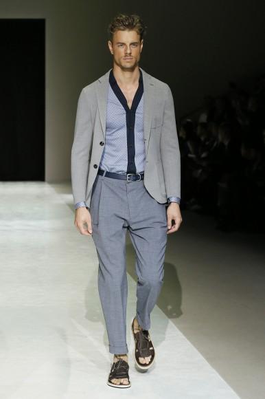 Giorgio Armani Menswear SS15 #8