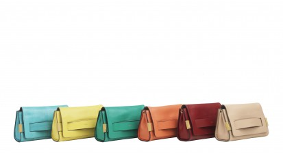 Elle leather clutches