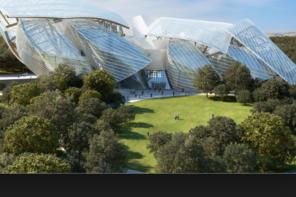 Ouverture de la Fondation Louis Vuitton , l'évènement art contemporain parisien