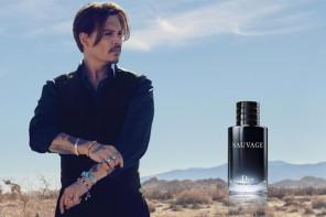 Johnny DEPP, le nouveau visage de Dior Eau Sauvage