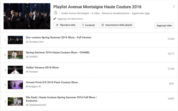 Playlist 2016