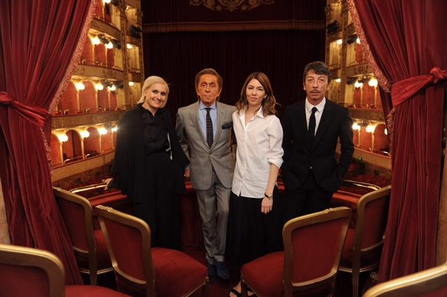 Maria Grazia Chiuri,Valentino Garavani;Sofia Coppola;Pierpaolo Piccioli