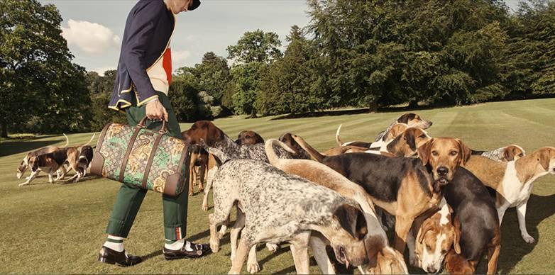 GUCCI s'installe à Chatsworth pour sa collection croisière 2017