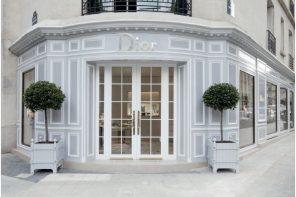 La nouvelle boutique DIOR Joaillerie et Horlogerie vous ouvre ses portes avenue Montaigne