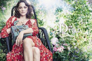 MARION COTILLARD, Femme fleur pour la nouvelle campagne Lady dior