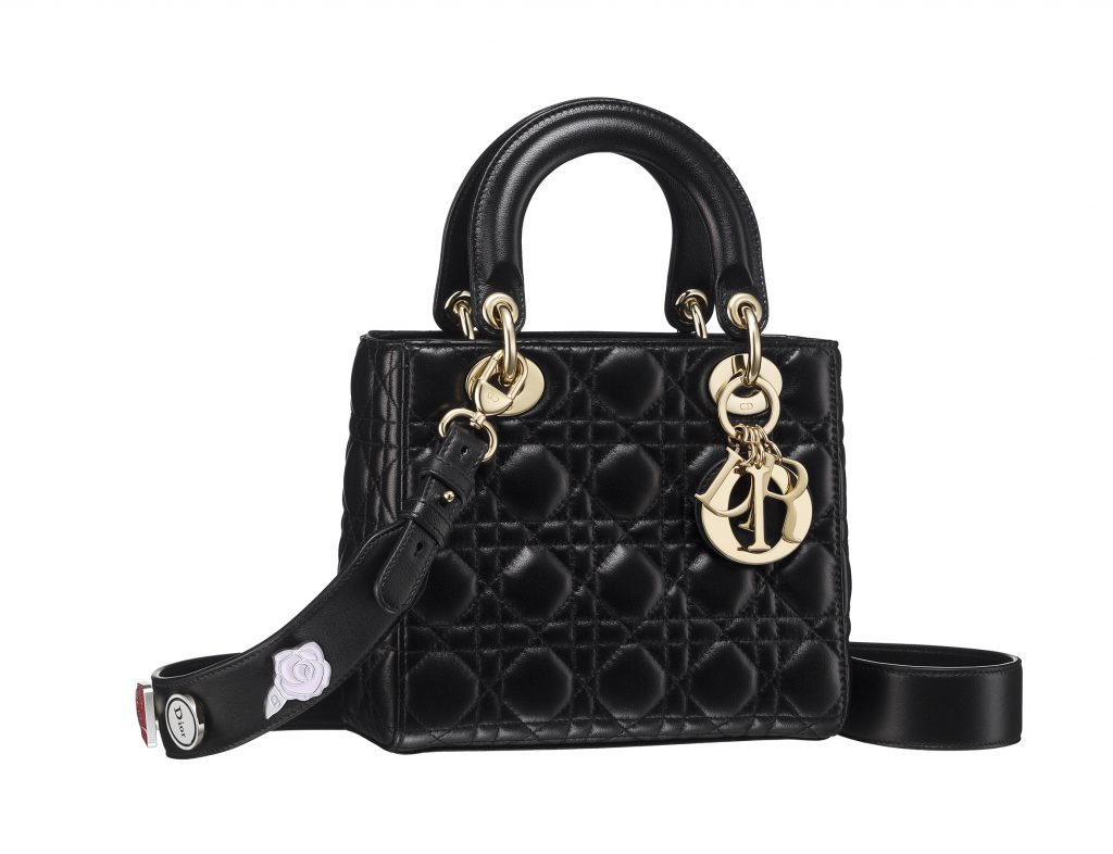 small-lady-dior-bag-in-black-cannage-lambskin-customizable-strap-with-lucky-pins