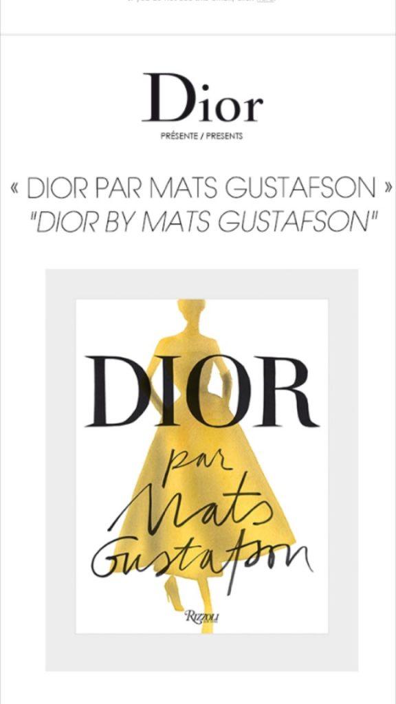 """ DIOR BY MATS GUSTAFSON """