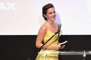 Emma Watson, une Belle habillée en Dior