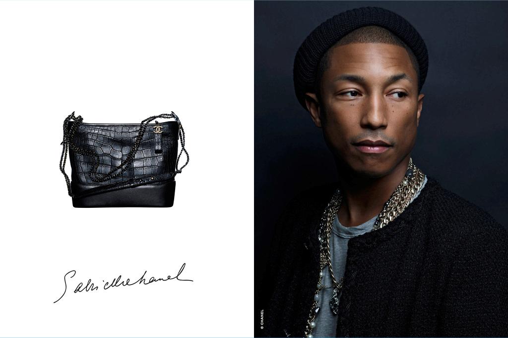 d747b5c0386718 Pharrell Williams fait partie de la famille Chanel depuis de nombreuses  années »