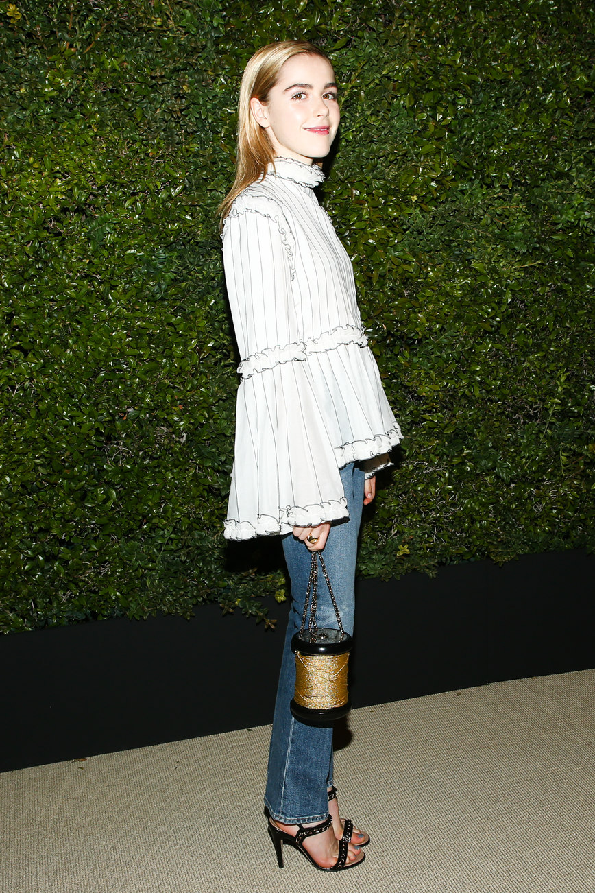 CHANEL Dinner in Celebration of CHANEL's GABRIELLE Bag: Co-Hosted by Caroline de Maigret and Pharrell Williams