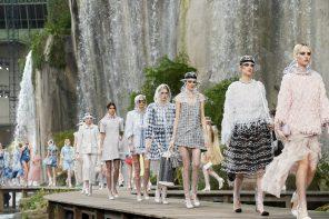 une cascade de couleurs pour la collection Chanel prêt-à-porter Printemps-été 2018