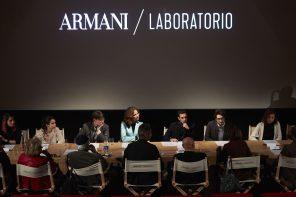 ARMANI/LABORATORIO : LES ETUDIANTS RENCONTRENT LEURS MENTORS
