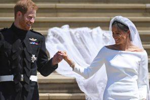 C'est en Givenchy que Meghan Markle a dit oui au Prince Harry