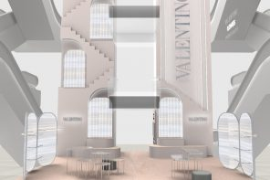 La maison Valentino prend ses quartiers au Printemps Haussmann