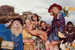 Gucci fait une escapade en Sicile pour sa campagne Pre Fall 2019