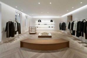 Dil Sander ré-ouvre son flagship à Paris