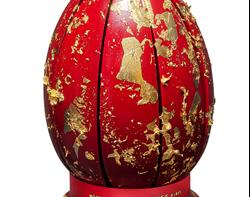 Quartiers d'or : l'œuf Bijou de l'Hôtel Plaza Athénée