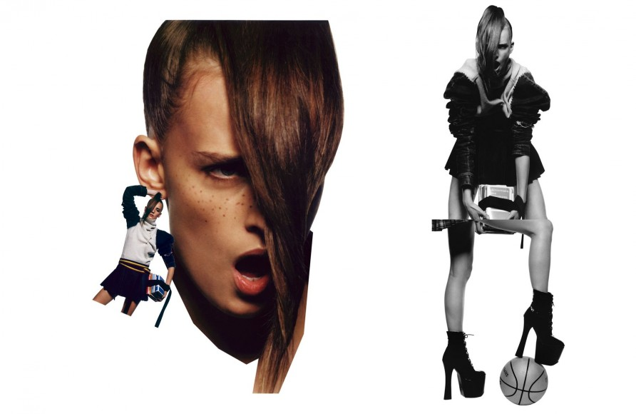 Anne Catherine Lacroix - Vogue Paris, 2002